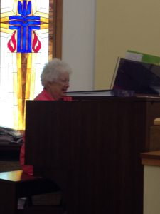 Organist and Music Director- Ann Eblin