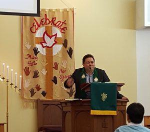 Pastor Vikaris Allan Robot,STH